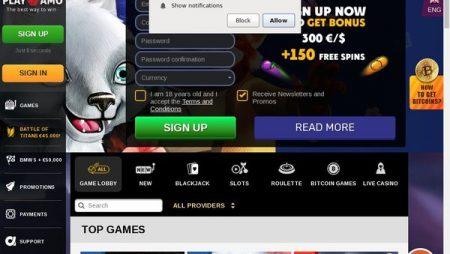 PlayAmo Bonus Codes